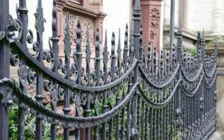 Красивые кованые заборы и ворота фото