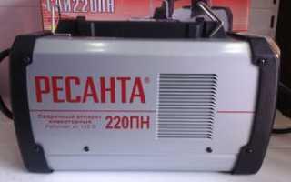 Сварочный аппарат инверторный саи220пн ресанта