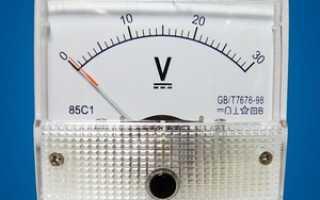 Принцип работы цифрового вольтметра