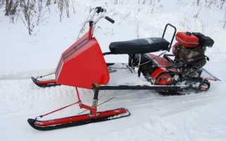 Самодельный снегоход видео чертежи
