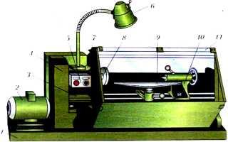 Устройство токарного станка для точения древесины