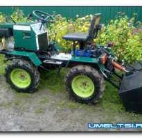 Самодельный трактор и все к нему