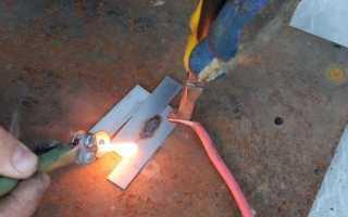 Сварка от аккумулятора 12 вольт видео