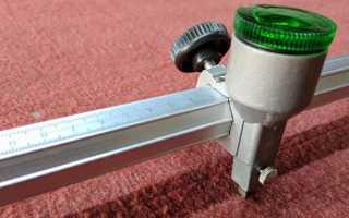 Роликовый быстрорез для резки стекла