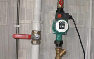 Устройство насоса системы отопления