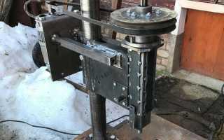 Сверлильный станок из мотора от стиральной машины