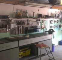 Слесарный стол в гараж своими руками