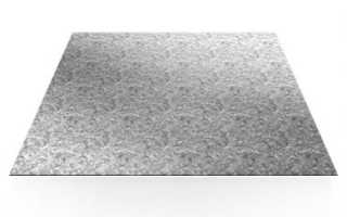 Лист оцинкованный марка стали