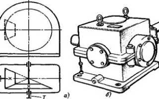 Кинематическая схема конического редуктора