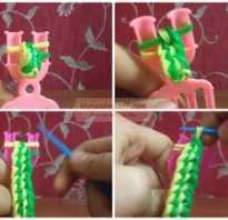Плетение из резинок без станка фигурки