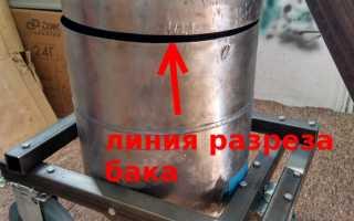 Печь для плавки свинца своими руками