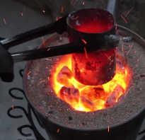 Формовочная смесь для литья бронзы