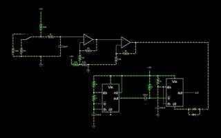 Редактор электрических схем онлайн