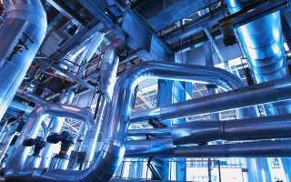 Монтаж скользящих опор трубопроводов