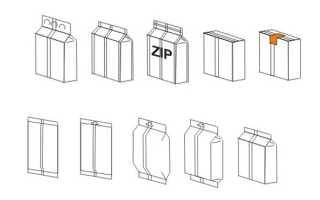 Линия по упаковке сыпучих продуктов