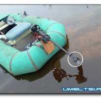 Самодельный электромотор на лодку пвх