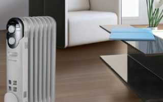 Масляные радиаторы для отопления дома