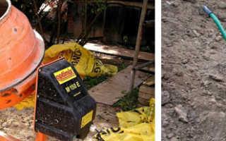 Время замеса бетона в бетономешалке
