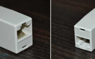 Как соединить интернетовский кабель