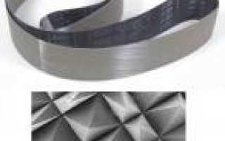 Абразивные ленты для шлифовальных станков