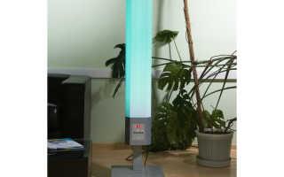 Бактерицидные светильники для дома