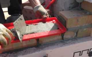 Как сделать шаблон для кладки кирпича