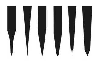 Какой угол заточки для кухонных ножей
