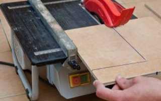Как правильно резать половую плитку