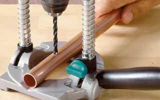 Стойка калибр для электрической дрели