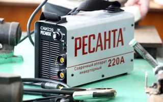 Сварочный аппарат ресанта саи 220 схема электрическая
