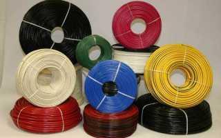 Нагрузка по сечению кабеля алюминий