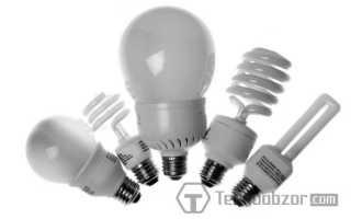 Какие лампы самые энергосберегающие