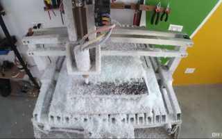 Самодельный мини фрезерный станок по металлу