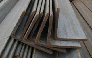 Сортамент угловой равнополочной стали