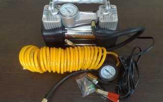 Трехпоршневой компрессор на колесах