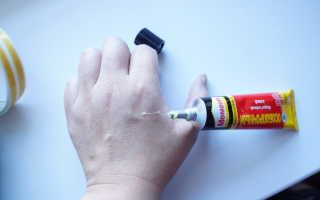 Как избавиться от суперклея на руках