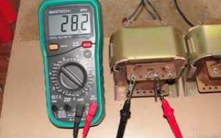 Как проверить силовой трансформатор