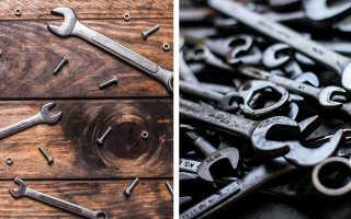 Виды ключей для ремонта автомобиля