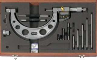Инструкция по применению микрометра