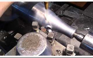 Точение конуса на токарном станке