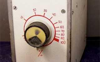 Регулятор мощности без помех схема