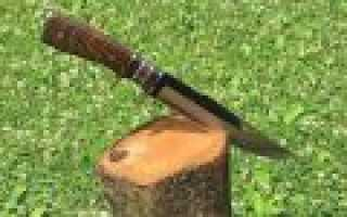 Как правильно наточить охотничий нож